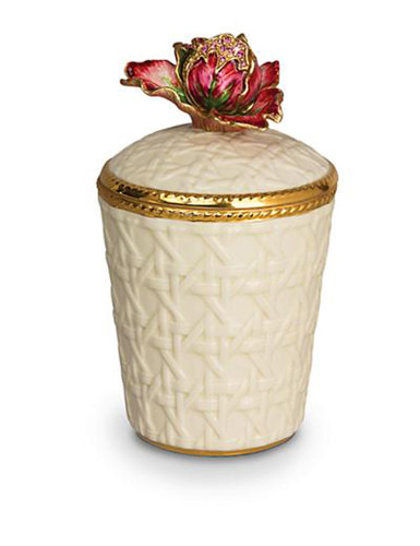 Jay Strongwater Margot Bouquet Tulip Candle