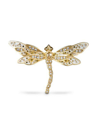 Jay Strongwater Candice Golden Bejeweled Dragonfly Pin MPN: SJ9173-232
