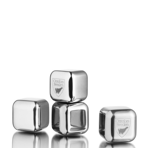 Orrefors City Ice Cubes Set Of 4