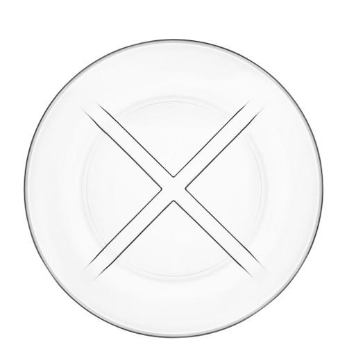 Kosta Boda Bruk Salad Plate Clear