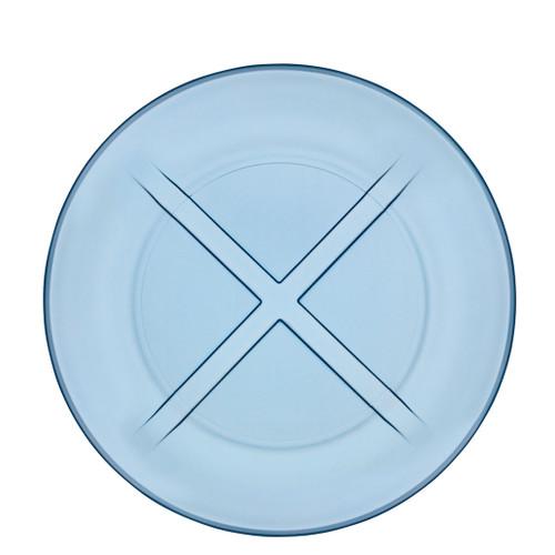 Kosta Boda Bruk Salad Plate Water Blue