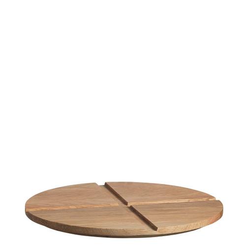 Kosta Boda Bruk Serving Board Lid Oak Medium