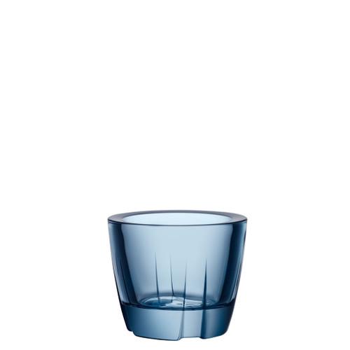Kosta Boda Bruk Votive Anything Bowl Water Blue