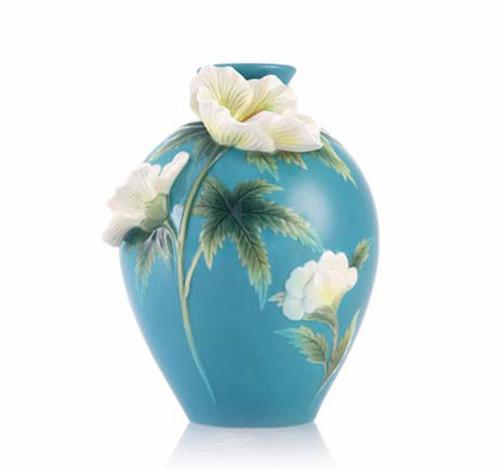 Franz Porcelain Vase Okra CP00189