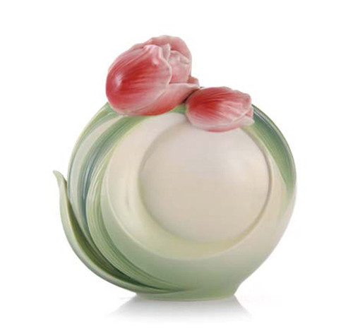 Franz Porcelain Vase Tulip FZ02575