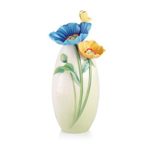 Franz Porcelain Vase Poppy FZ03068