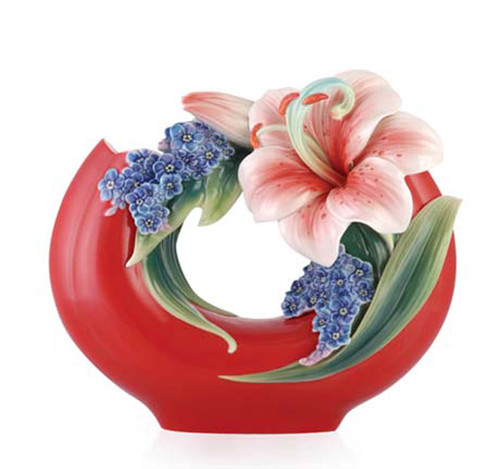 Franz Porcelain Vase Lily FZ03331