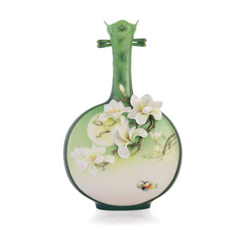Franz Porcelain Vase Perfection Magnolia FZ03339