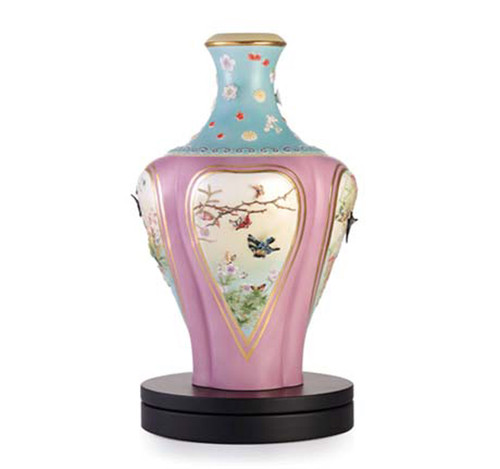 Franz Porcelain Vase Butterfly Limited Edition FZ03346