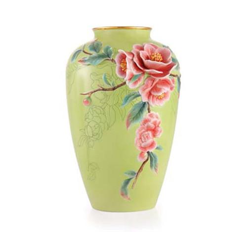 Franz Porcelain Vase Rieger Begonias Limited Edition FZ03367