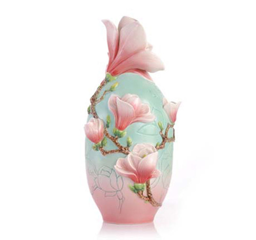 Franz Porcelain Vase Magnolia FZ03414