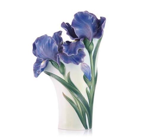 Franz Porcelain Vase Iris FZ03422