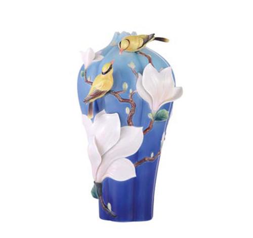 Franz Porcelain Vase Magnolia FZ03466