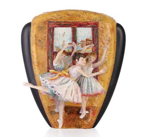 Franz Porcelain Vase Dance Ballet Limited Edition FZ03546