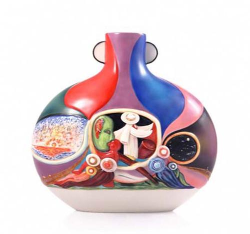 Franz Porcelain Vase Pilgrimage FZ03551