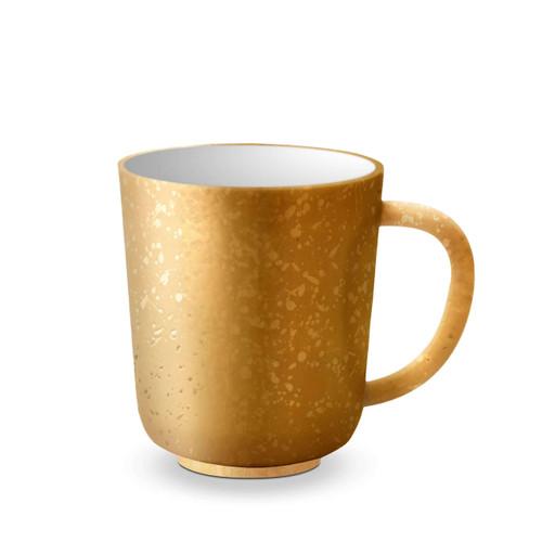 L'Objet Alchimie Gold Mug AL250