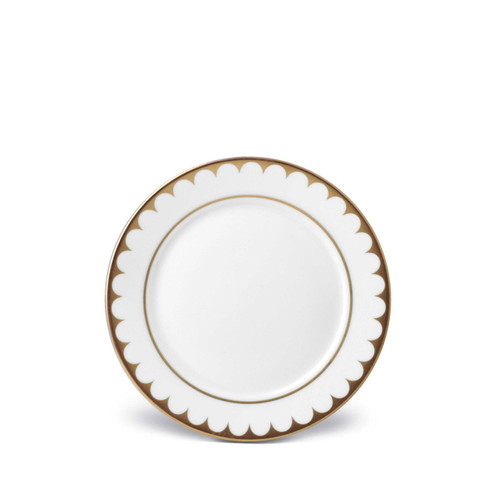 L'Objet Aegean Filet Bread and Butter Plate Gold