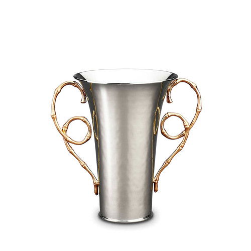 L'Objet Evoca Vase Medium 24k Gold-Plated