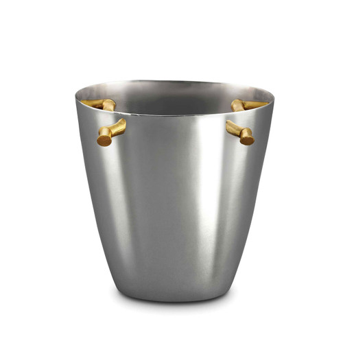 L'Objet Bambou Champagne Bucket 24k Gold-Plated Stainless Steel