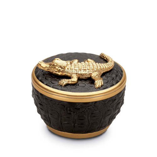 L'Objet Crocodile Gold Candle