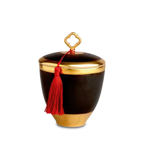 L'Objet Chinoiserie Key Noir Candle