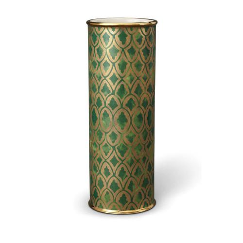 L'Objet Fortuny Peruviano Green Large Vase