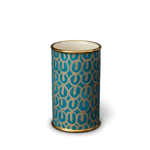 L'Objet Fortuny Ashanti Teal Small Vase MPN: LPF76