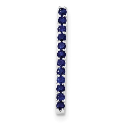Blue Sapphire Chain Slide 14k white Gold XP5089S/AA