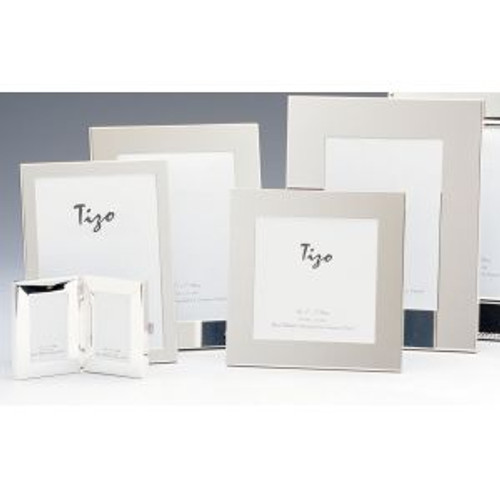 Tizo Thin Simple 8 x 10 Inch Silver Plated Picture Frame