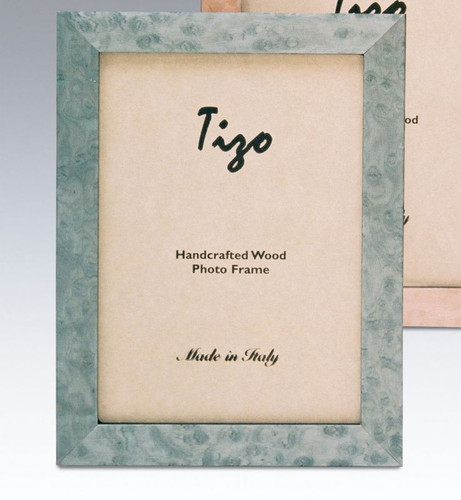 Tizo Bella 5 x 7 Inch Wood Picture Frame - Baby Blue