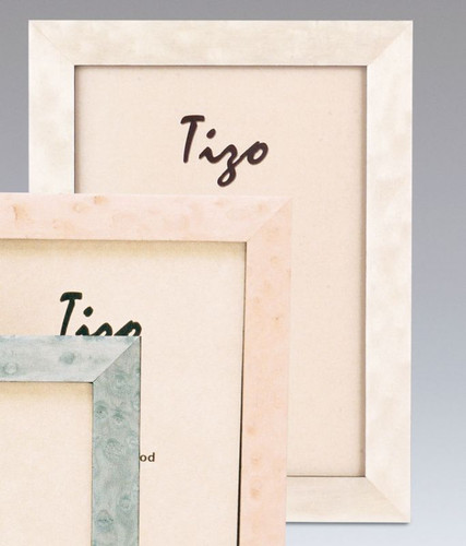 Tizo Bella 5 x 7 Inch Wood Picture Frame - White