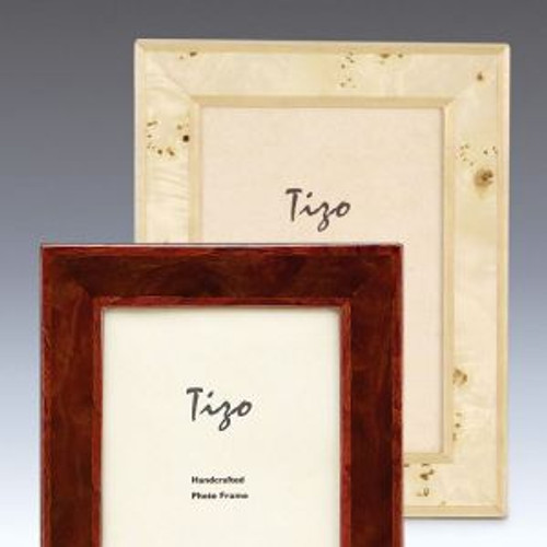Tizo Cream 5 x 7 Inch Wood Picture Frame