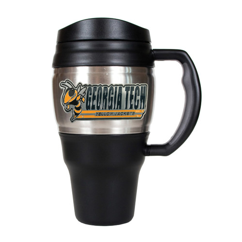 Georgia Tech University 20oz Stainless Steel Travel Mug GC5159