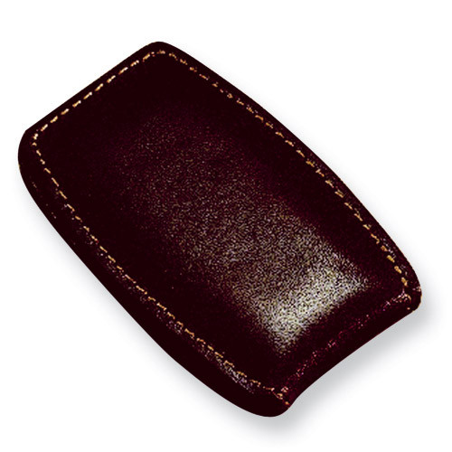 Brown Leather Money Clip GL8801
