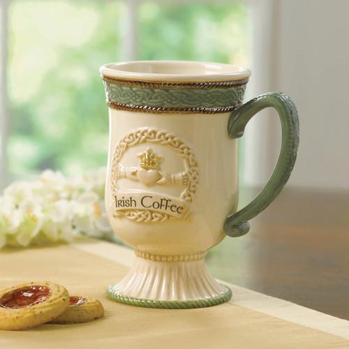 Ceramic Dishwasher and Microwave Safe Irish Coffee Mug GM13196