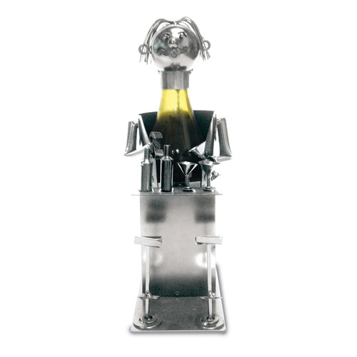 Bartender Metal Wine Caddy GM13258