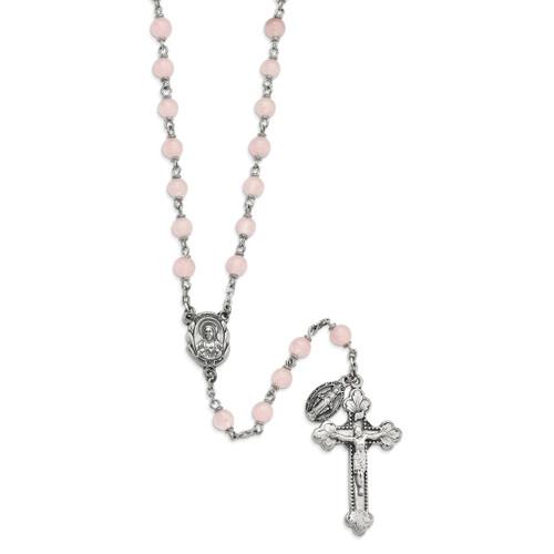 Peace & Forgiveness Rose Quartz Rosary GM13532