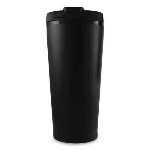 Black Engravable 16 oz Travel Tumbler Stainless Steel GM13835