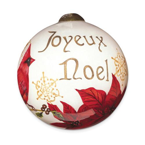 Ne'Qwa Sandy Clough Joyeux Noel Ornament GM13908