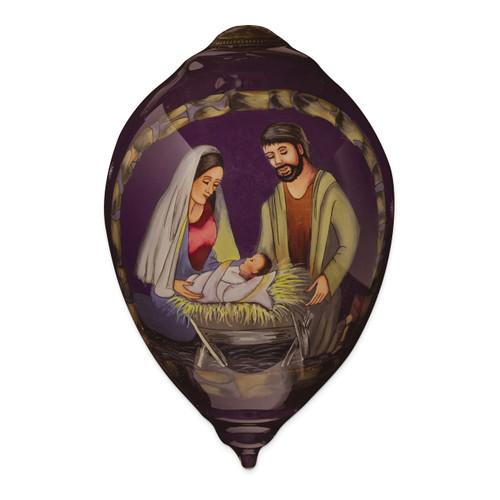 Ne'Qwa Sandy Clough Nativity Ornament GM13909