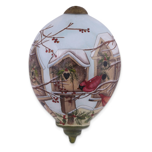 Ne'Qwa Susan Winget Home For The Holidays Ornament GM13913