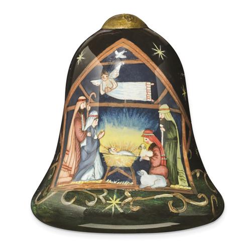 Ne'Qwa Susan Winget Away In A Manger Ornament GM13914