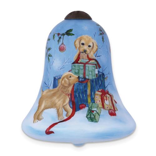 Ne'Qwa Sarah Summers Pups' Snow Day Ornament GM13922