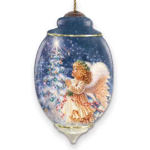Ne'Qwa Dona Gelsinger My Christmas Wish Ornament GM13923