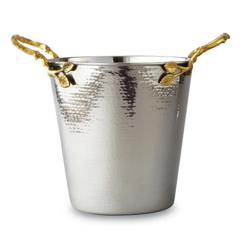 Golden Vine Hammered Wine Bucket Stainless Steel GM14122