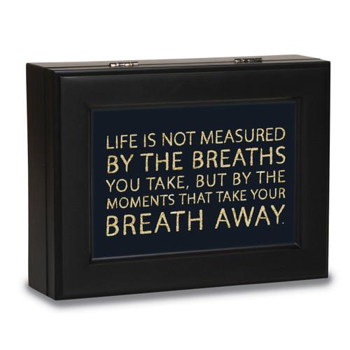 Breath Away Black Music Box GM14514