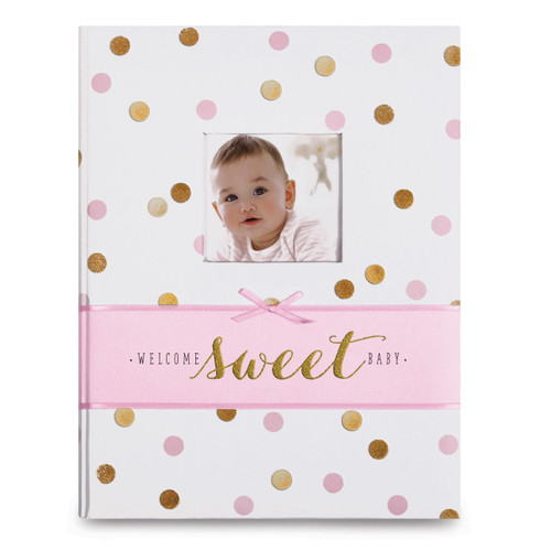Sweet Sparkle Baby Girl Memory Book GM14759