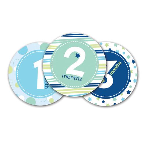 Blue Baby Milestone Stickers GM15703