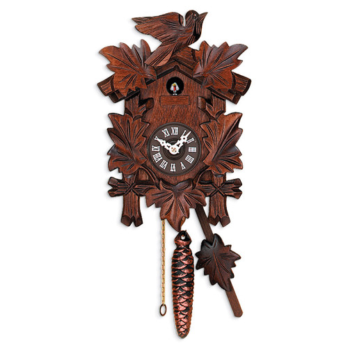 Bird and Leaves Quarter Call Cuckoo Clock GM16186