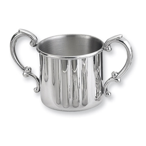 Pewter Double Handle Baby Cup GP8919